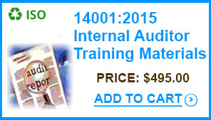 14001-2015-internal-auditor-training-materials-standards