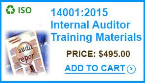 14001-2015-internal-auditor-training-materials-standards