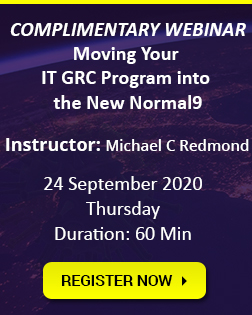 Moving Your IT GRC Program into the New Normal