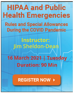 HIPAA and Public Health Emergencies