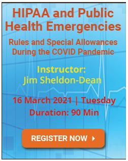 HIPAA and Public Health Emergencies