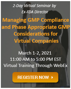 Managing GMP Compliance and Phase
