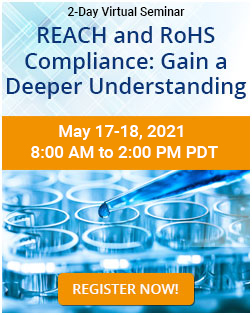 REACH and RoHS Compliance