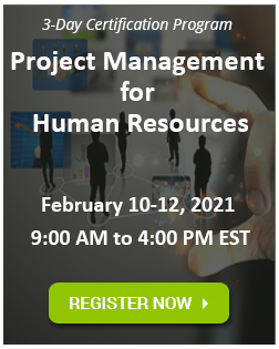 HR Project Management Certification Program
