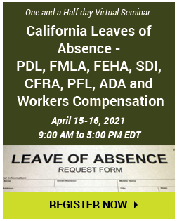 California Medical Lleaves Aabsence Gguide