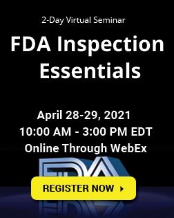 FDA Inspection Essentials