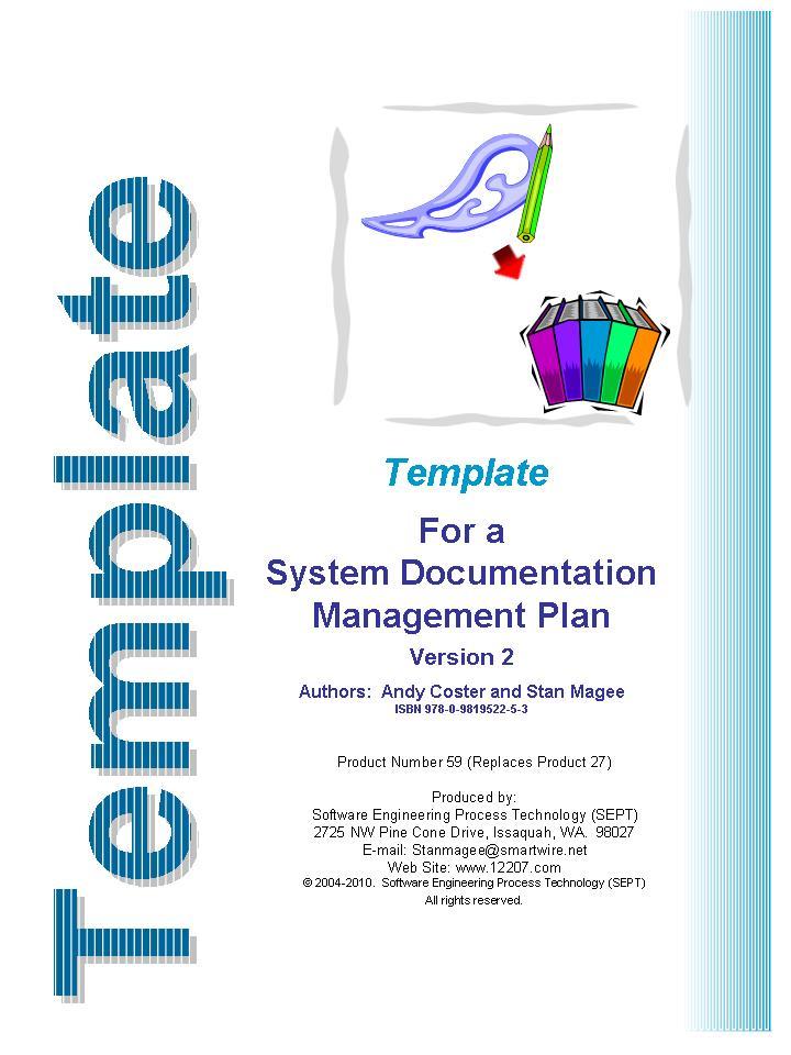 System Documentation Management Plan Template ISOIEC - Product documentation template