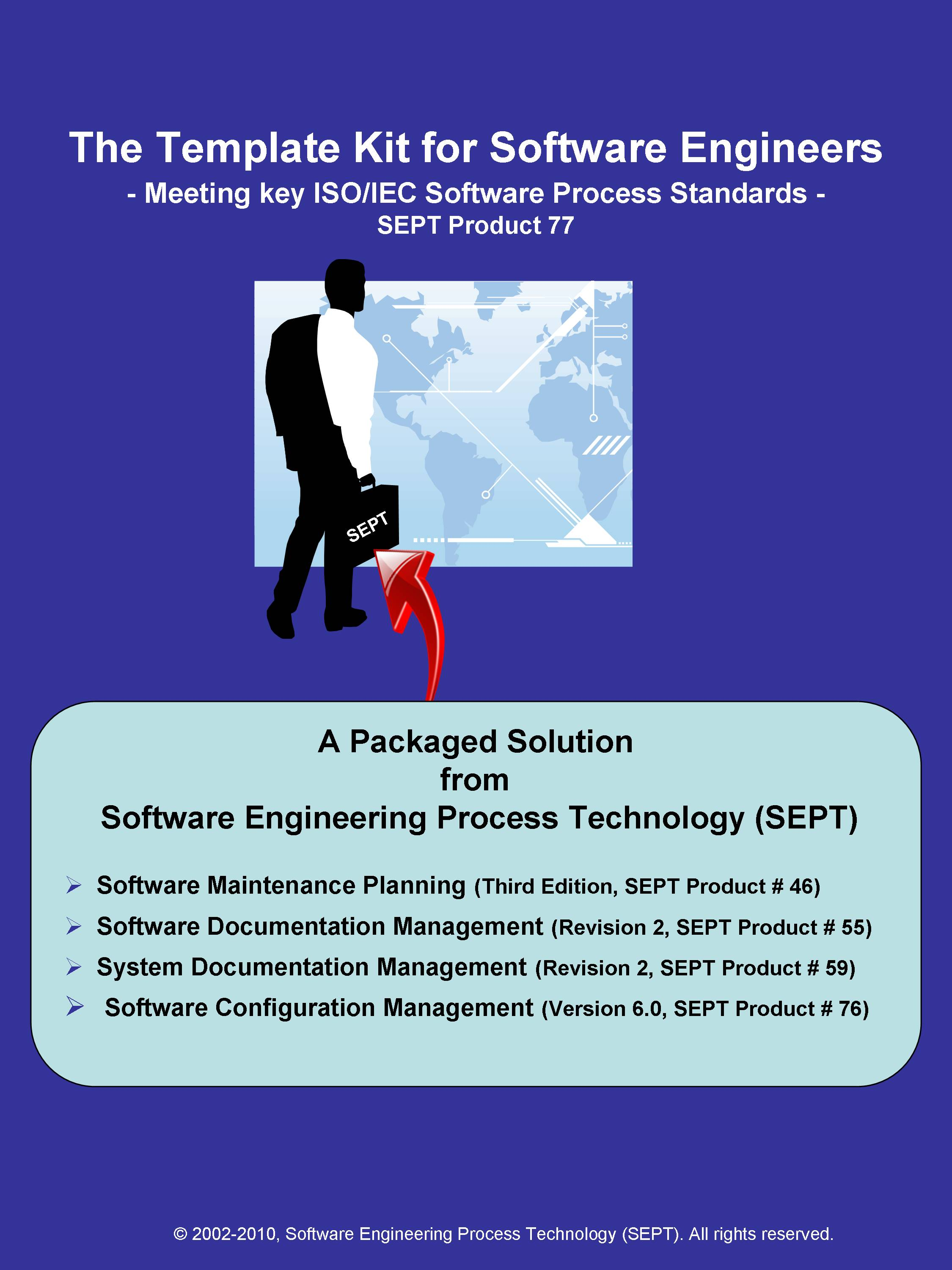 Software Engineering Kit   Composed Of Templates For Key Software  Engineering Process Plans