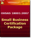 OHSAS 18001 Small Business Certification Package