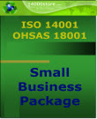ISO 14001-18001 Small Business Certification Package