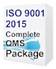 ISO 9001:2015 Quality Manual & Procedures Package