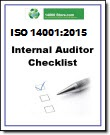 14001:2015 Internal Audit Tools: Checklist, Procedure and Forms