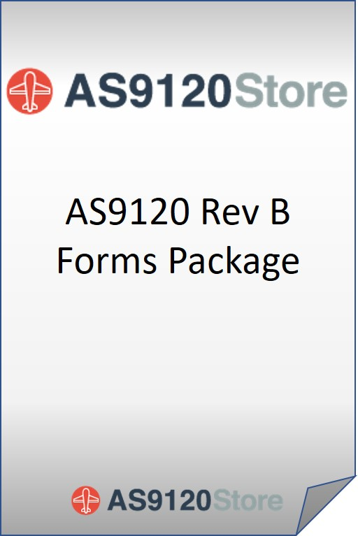 AS9120 Rev B Forms Package