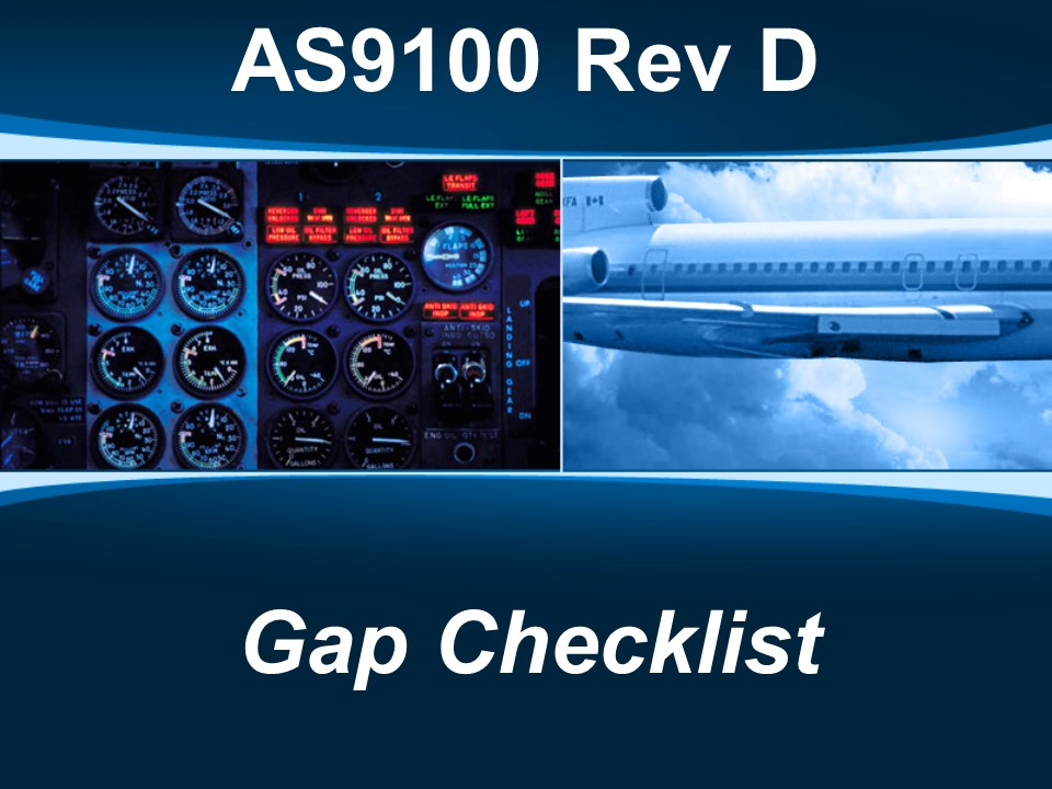 AS9100d Gap Checklist
