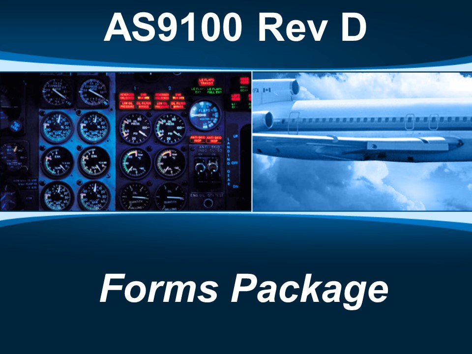 AS9100d Forms Package