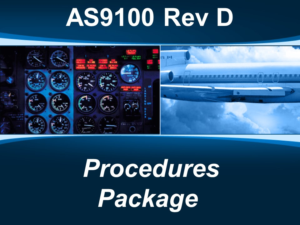 AS9100d Procedures Package