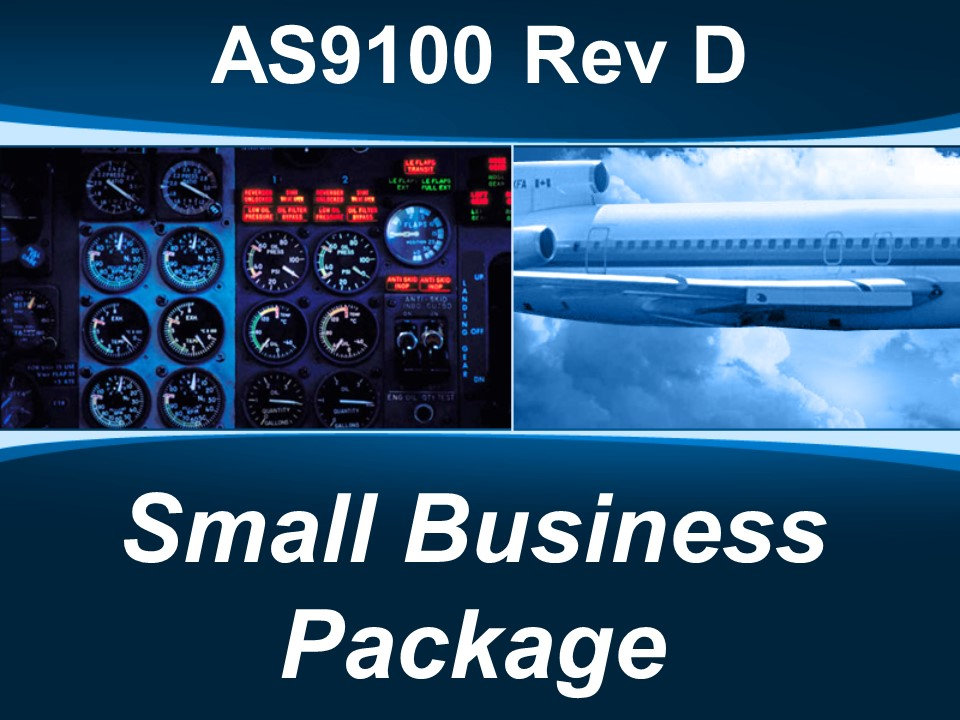 AS9100d Small Business Package