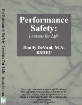 Performance Safety: Lessons For Life
