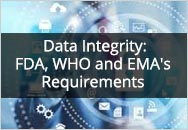 Exploring Data Integrity To Include FDA, WHO and EMA's Latest Guidance for Industry (2018/2019)