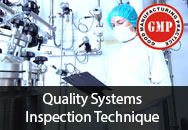 Facility, Maintenance and Calibration Considerations of the Quality Systems Inspection Technique (QSIT)