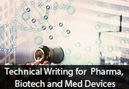 Technical Writing for Pharma, Biotech and Med Devices