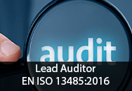 Lead Auditor EN ISO 13485:2016 and EU MDR 2017/745 - Regulation